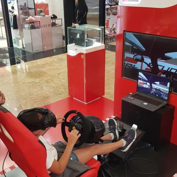 GameIN setup for Scuderia Ferrari